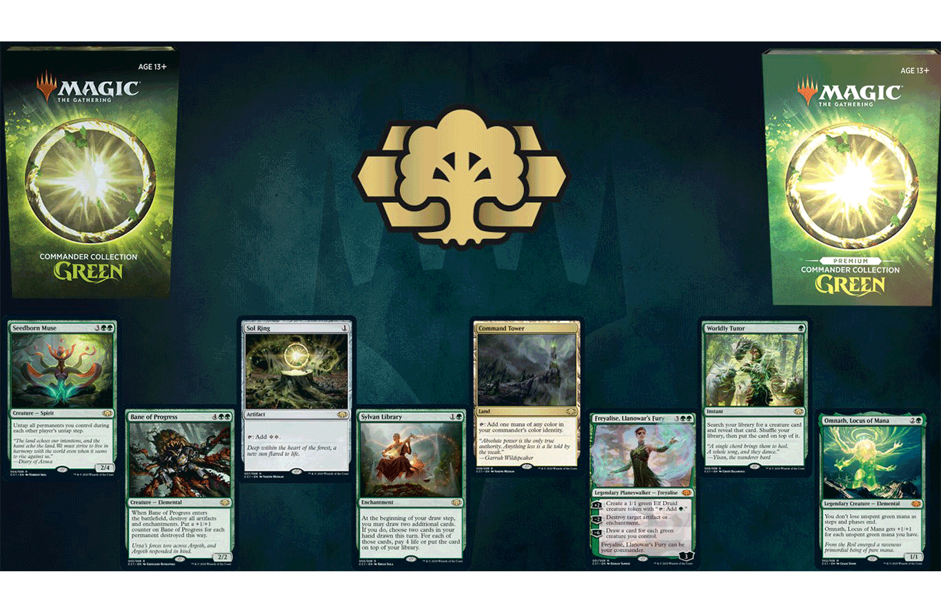 Commander Collection: Green