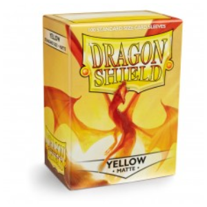 DRAGON SHIELD MATTE - AMARELO