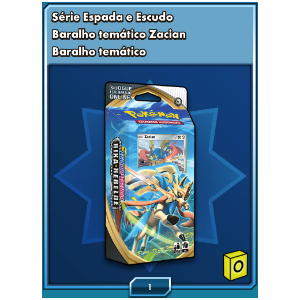 Deck do Zacian ONLINE - Deck Temático