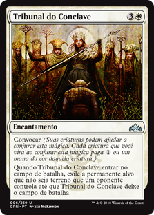 carta Tribunal do Conclave