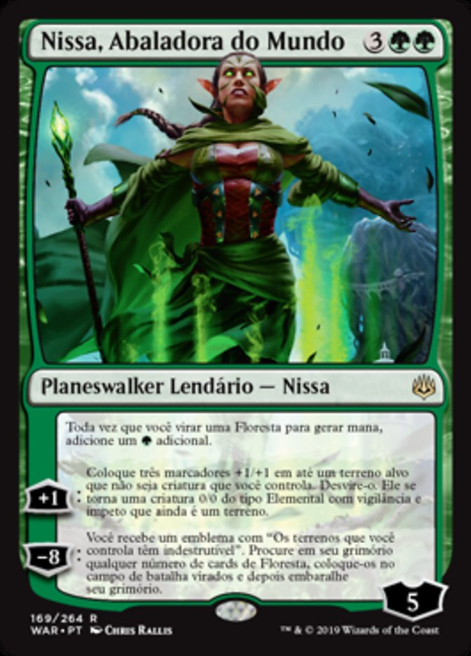 Nissa, Abaladora do Mundo