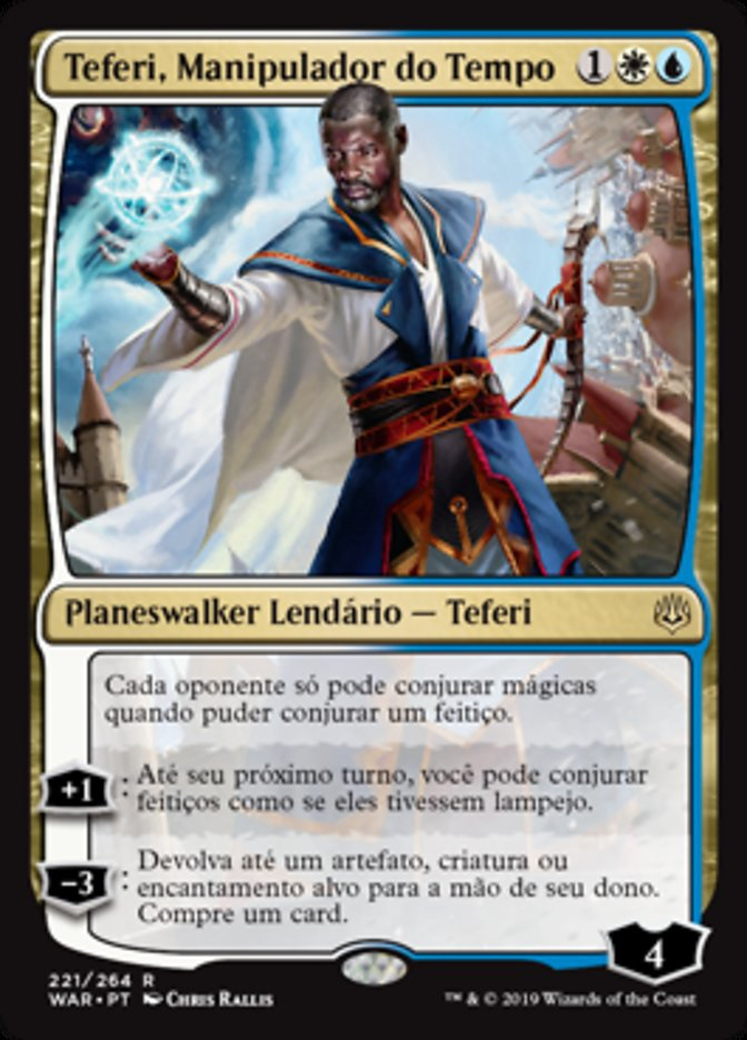 carta Teferi, Manipulador do Tempo