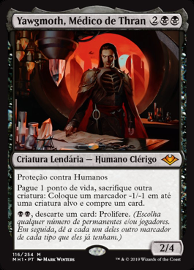 Yawgmoth, o mais temível vilão da história do Magic!