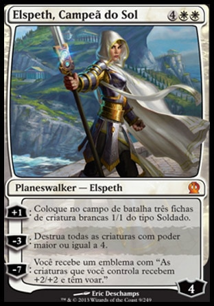 carta Elspeth, Campeã do Sol