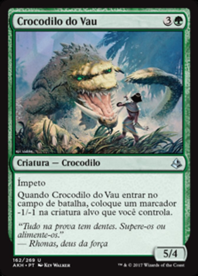 Crocodilo do Vau