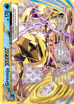 carta Greninja TURBO