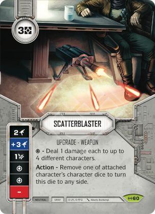carta Blaster de Dispersão