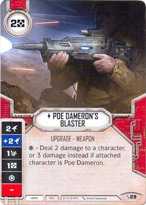 Blaster Do Poe Dameron