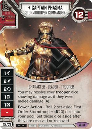 Captain Phasma - Stormtrooper Commander