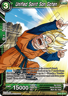 Unified Spirit Son Goten