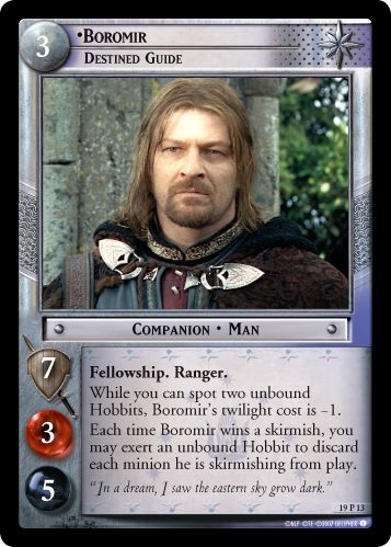 •Boromir, Destined Guide