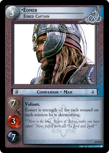 •Eomer, Eored Captain